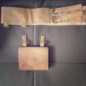 Authentic Marc Jacobs Leather Belt Bag