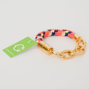 NWT C. Wonder Bamboo Link Rope Bracelet