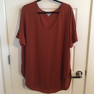 Great Rust colored Tee