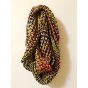 Sundance multi-colored infinity scarf