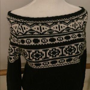 American Eagle Outfitters Fair Isle Sweater