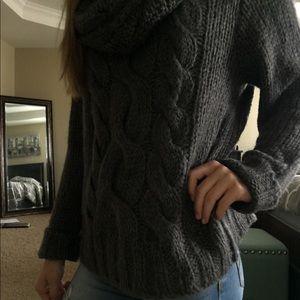 Scarf sweater- never worn