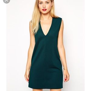 ASOS Green Shift Dress