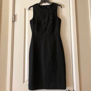 Linen Bow Tie Dress