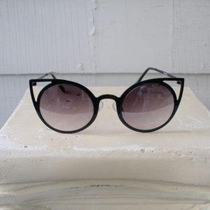 NastyGal Cat Eye Matte Rim Sunnies Sunglasses
