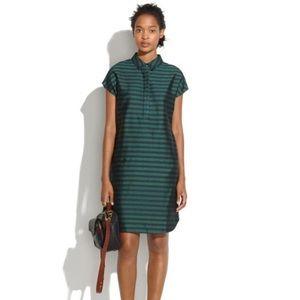 Madewell striped shift dress L EUC