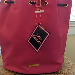 NWT Juicy Hot Pink Backpack