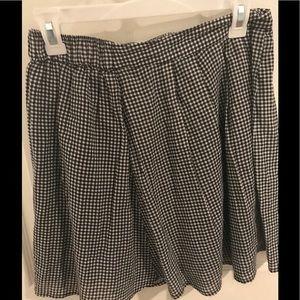 Old Navy gingham skirt