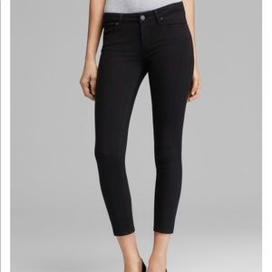 Paige Verdugo Crop Transcend Jeans in overdye