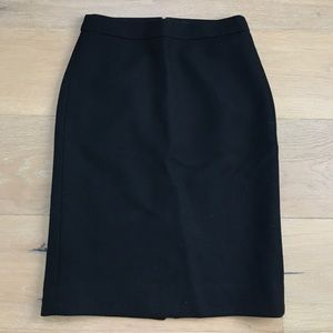 Double-Serge Pencil Skirt