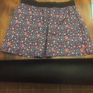 Floral Old Navy Skirt!