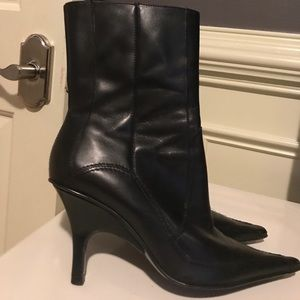 Black Ankle Boots Leather made in Brazil