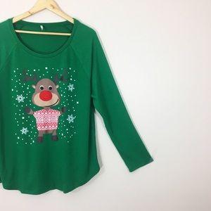 Sweaters - Christmas | Reindeer Top