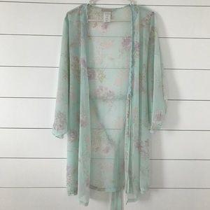 California dynasty pastel kimono/shawl