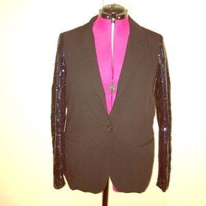 Royal Sequined Blazer