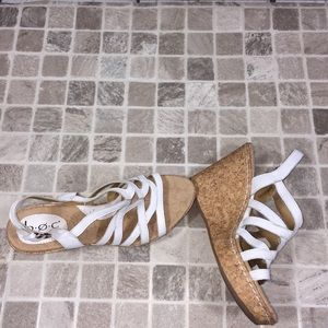 Women's cork wedge Born Concept 9