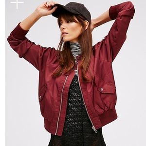 NWT Free People Midnight Bomber
