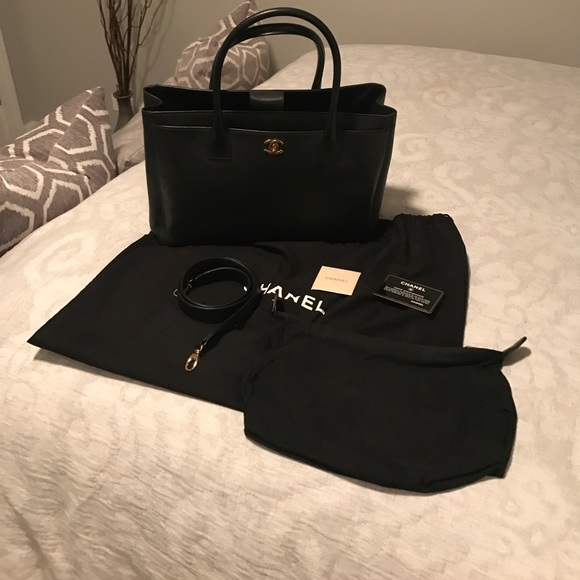 b3c1300609ad48 CHANEL Bags | Executive Cerf Tote Dustbag And Auth Card | Poshmark