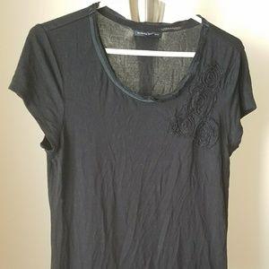 Banana Republic Black T-shirt - Size M - EUC