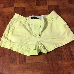 Fluorescent jcrew shorts
