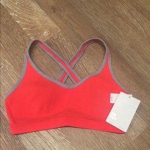 Gap orange sport bra