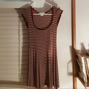 Urban Outfitters Striped Cotton Dress