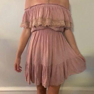 NWT altar'd state cold shoulder dress