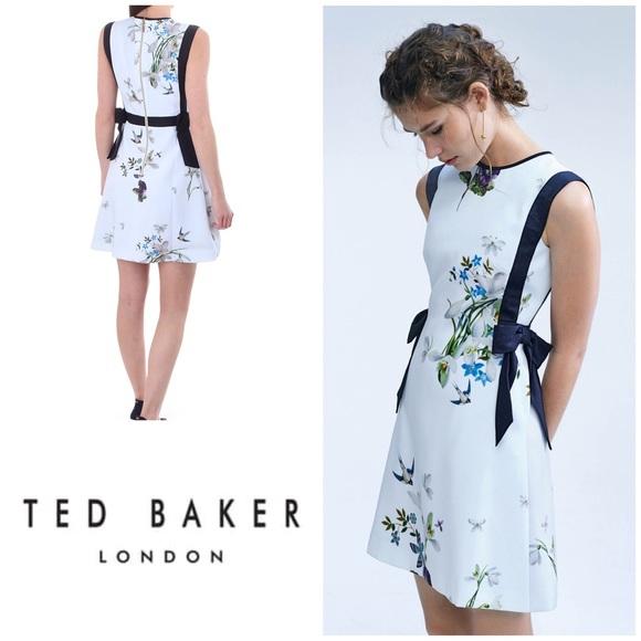 f0f8b27b445f New w  Tags Ted Baker Sipnela Dress - Size 12