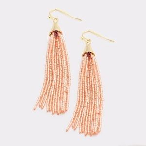 Jewelry - Rose Gold Tone Tassel Earrings