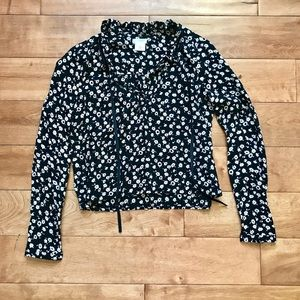 NWT Urban Outfitters Cooperative Floral Top XS