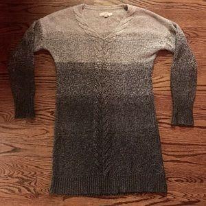 Loft Ombré Sweater Dress