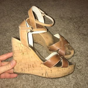 Super cute wedges from Guess