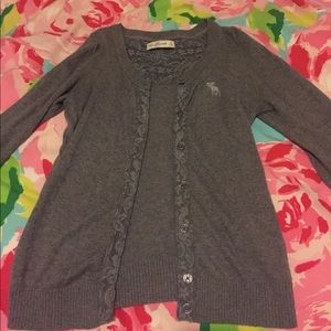 Abercrombie and Fitch cardigan. Size small.