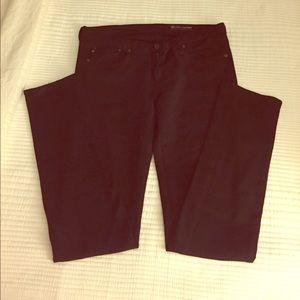 Black AG skinny jeans