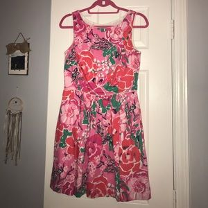 Lilly Pulitzer- Pink and Red dress