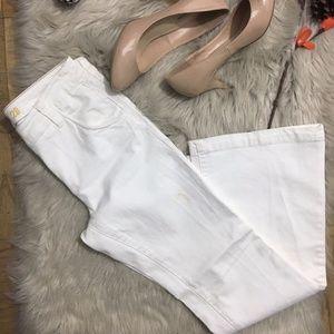 J Crew Flare Denim Jeans Women's size 28 x 32