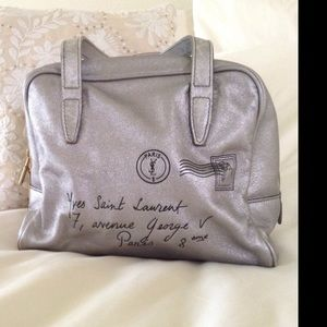 Authentic Yves Saint Laurent small mail bag