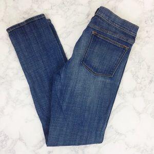 J Crew Denim Jeans Mid Rise Skinny Jeans