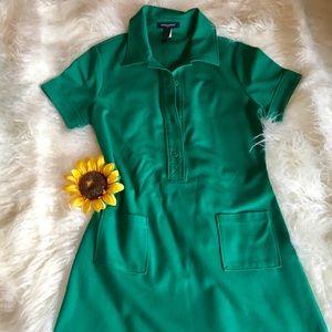 Banana Republic Green Dress Sz. Small