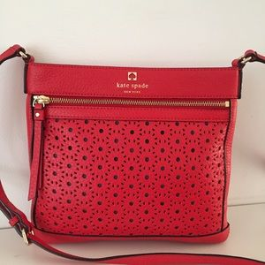 Kate Spade Perri Lane Bubbles Reidy Red Bag