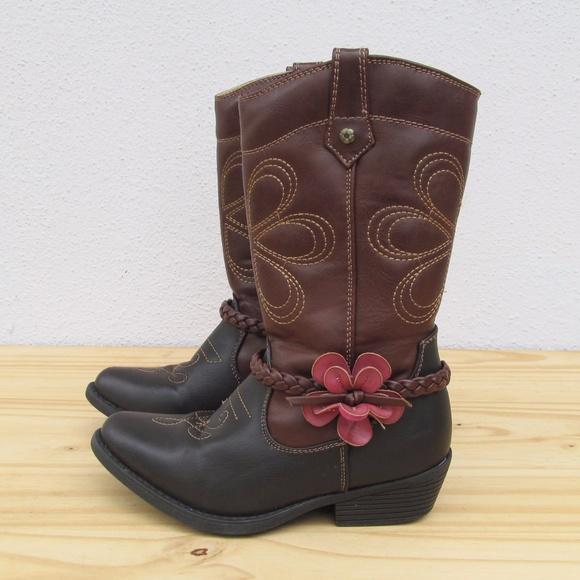 385f19b92e29 Flex West Other - Kid s Flex West Girls  Cowboy Boots Size 11