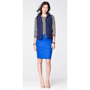 J.Crew Double Serge Wool Pencil Skirt