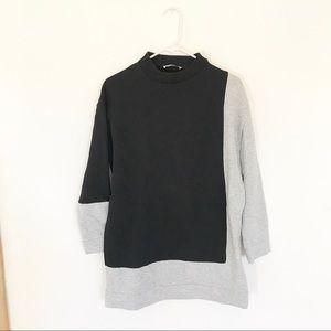 Zara Colorblock Sweatshirt