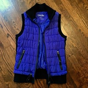 Calvin Klein Performance Quilted Vest sz Small