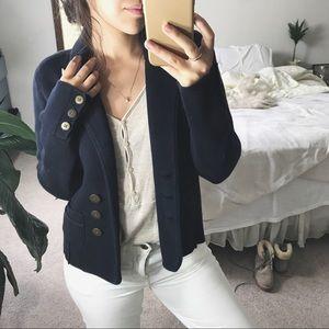 LOFT/ knit sweater jacket