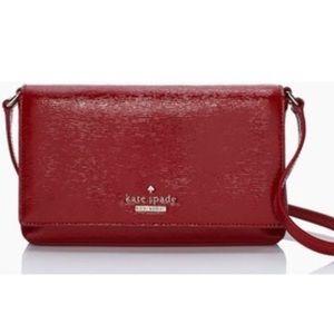 Kate Spade Cedar Street Patent Aster Bag