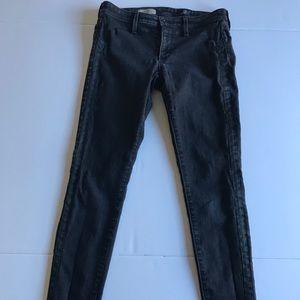 """AG """"Jackie"""" tuxedo super skinny jeans"""