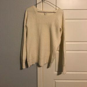 Cream J. Cream sweater.