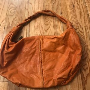 Burnt Orange Leather Bag