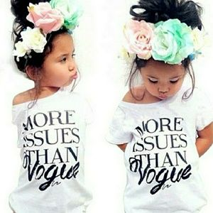 """Other - """"More issues than vogue"""" Tshirt"""